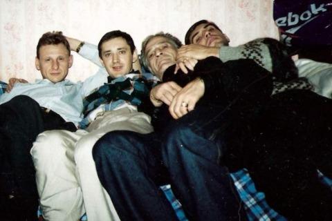 Слева воры в законе: Сергей Волков (Коммуняй), Сергей Акимов (Аким Волгоградский), Степан Фурман (Стёпа Мурманский) и Тимур Парулава