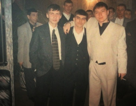 Слева вор в заоне Олег Шохирев, справа вор в законе Сергей Лепешкин