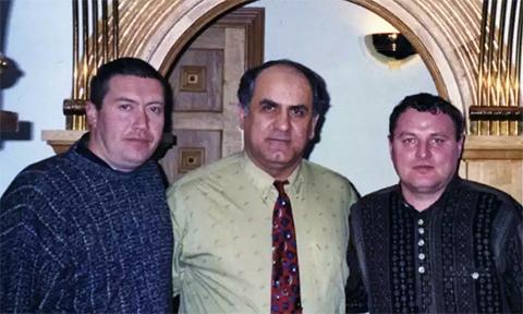 Слева воры в законе: Андрей Трофимов (Трофа), Анзор Мамедов и Александр Громоздин (Гром)