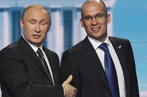 Владимир Путин и Александр Бречалов