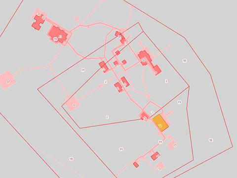 Кадастровый план базы отдыха «Варчато» — дальней резиденции губернатора Кобылкина