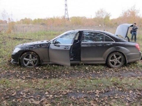 Найденный автомобиль Олега Дергилева