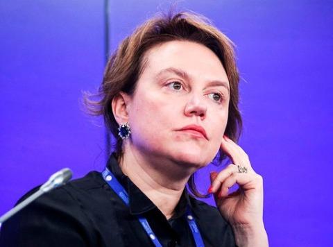 Наталья Билан на Петербургском международном экономическом форуме, 3 июня 2017 года