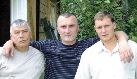 Слева: криминальный авторитет Федор Титов (Тит), вор в законе Георгий Углава (Тахи), Николай Буглак