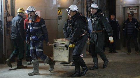 """Спасательные работы на шахте """"МИР"""""""