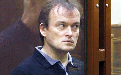 Олег Шаманин в суде