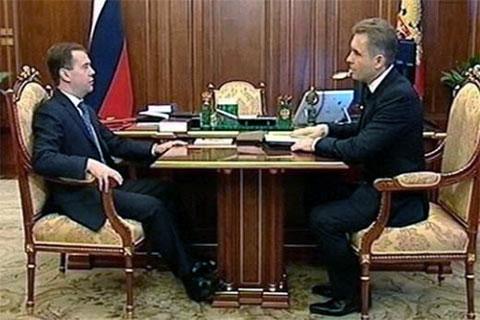 Дмитрий Медведев и Павел Астахов