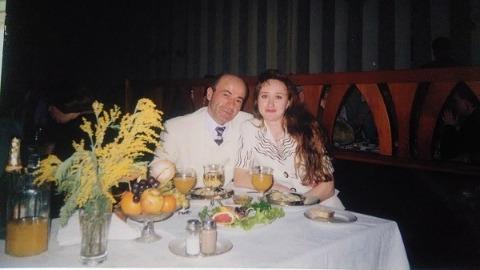 Вор в законе Пецо с бывшей женой Наталией Дышкант