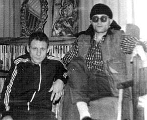 Слева воры в законе: Сергей Волков (Коммуняй) и Георгий Углава (Тахи)