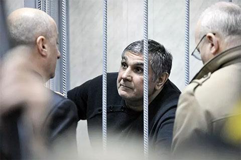 Захарий Калашов в московском суде