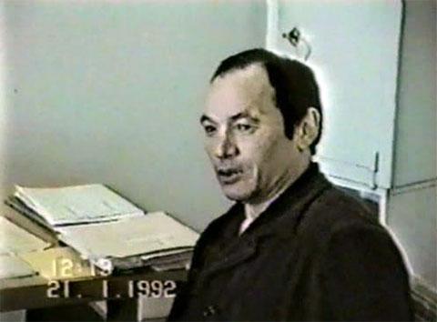 Николай Джумагалиев на допросе