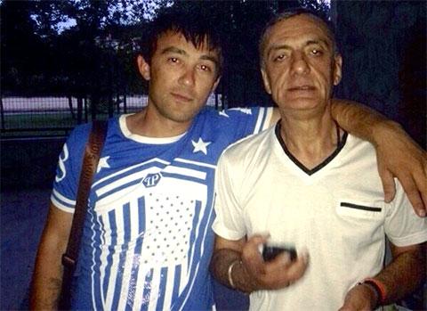 Слева воры в законе: Ика Джабуа и Гуджа Дигмелашвили