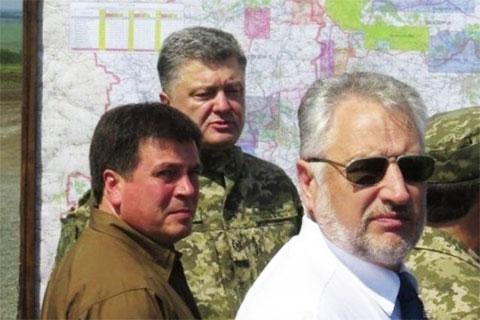 Петр Порошенко и Павел Жебровский