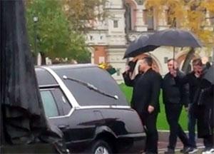 На похоронах Александра Аверина