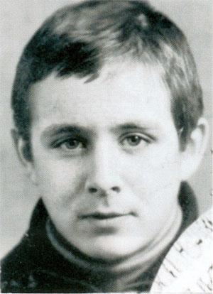 Сергей Скрябин - Скряба, в молодости