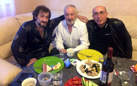 Слева: Камо Егиазаров (Камо Московский), Николай Ботинкин (Ботинок), Махо Тбилисский