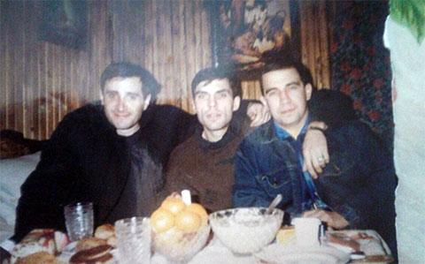 Слева воры в законе: Камо Егиазаров (Камо Московский), Степан Фурман (Степа Мурманский) и Вадим Сабреков (Чебурашка)