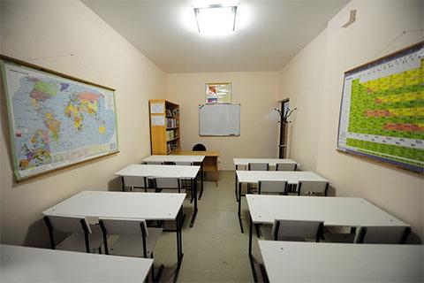 Учебный класс в СИЗО-1 Владивостока