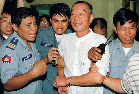Чэнь Цили - Король утка - арест