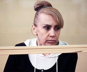 Инесса Тарвердиева на суде