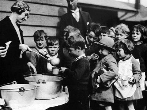 Во времена Великой депрессии