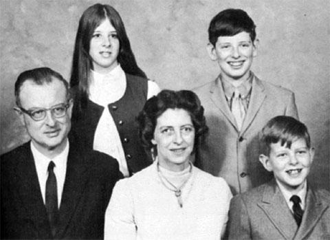 Семья Джона Эмиля Листа