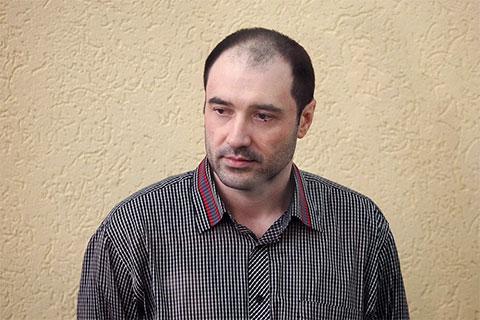 Сергей Синельник на суде