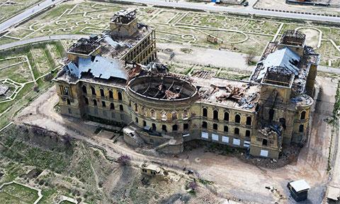 Дворец Амина после штурма