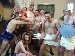 Новый год в тюрьме фото