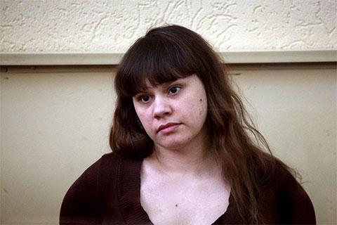 Виктория Тарвердиева на суде