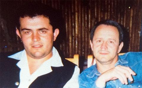 Слева воры в законе: Александр Хаширов (Хашир) и Мераб Мзарелуа (Дуяке)