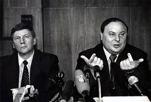 Анатолий Чубайс и Егор Гайдар