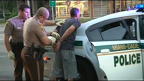 Арест наркодиллера