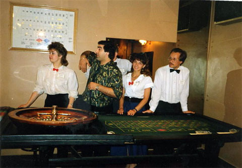 """Первое казино """"Метелица"""""""