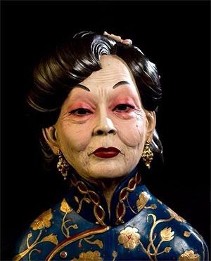 Восковая фигура мадам Вонг