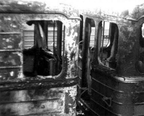 Первый взрыв метро в Москве