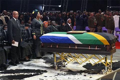 Похороны Нельсона Манделы