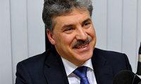Павел Грудинин от партии КПРФ