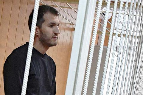 Руслан Сулейманов в суде