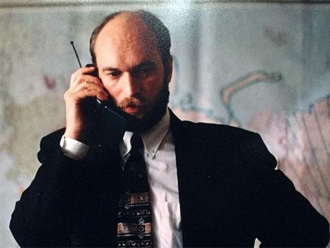 Сергей Пугачев во время избирательной компании Бориса Ельцина 1996 год