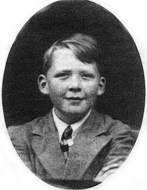 Альберт Фиш в детстве