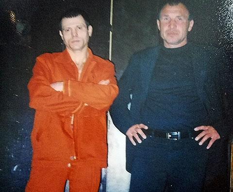 Слева: АртурЕрошевский и Витя Нос