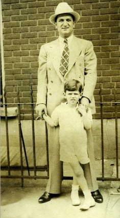 Джозеф Бонанно с сыном