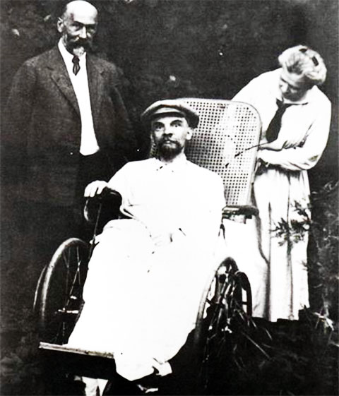 Последнее фото живого Ленина