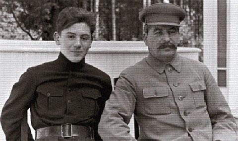 Иосиф Сталин и Василий