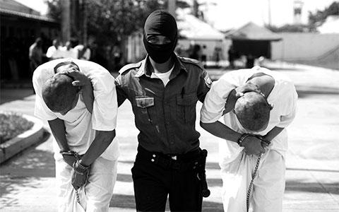 Арест членов MS-13