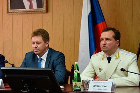 Дмитрий Овсянников и Игорь Шевченко
