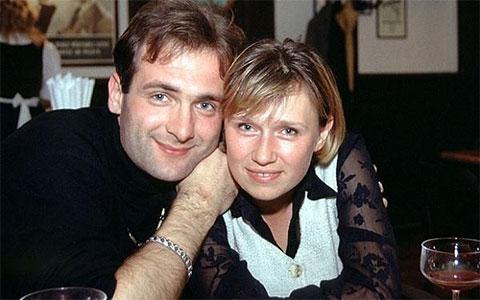 Алена Притула и Георгий Гонгадзе
