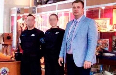Справа: Иван Близнюк