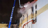 Жертвы пожара в ТРК «Зимняя Вишня» в Кемерово